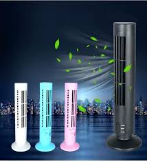 mini tower desk fan portable cooling durable no leaf air conditioner cool for usb laptop