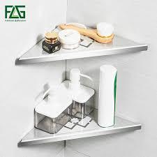 <b>FLG Bathroom</b> Shelve Brushed Nickel 304 Stainless Steel <b>Wall</b> ...
