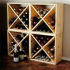 cube wine rack. Unique Rack Wood Modular Stackable 12 Bottle Wine Rack Cube Counter Top On N