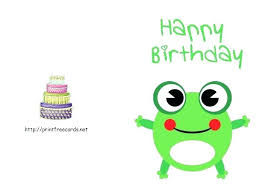 Free Happy Birthday Cards To Print Clever Printable In