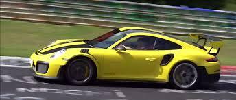 porsche gt2 rs 2018. wonderful gt2 2018 porsche 911 gt2 rs nurburgring prototype battle  intended porsche gt2 rs