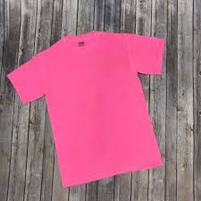 Comfort Colors T Shirts Color Chart Blank Comfort Color Shirts For Heat Transfer Vinyl Blanks For Htv Comfort Colors 1717 Neon Pink Blank Bulk