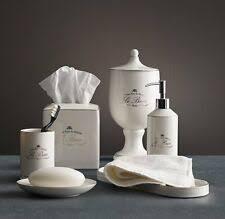 Белый <b>Kassatex</b> наборы аксессуаров для ванной | eBay