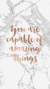 You Are Capable Quote Phone Background ...