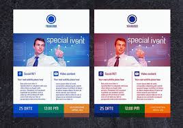 Business Flyer Template Free Download 50 Free Premium Psd Business Flyers Brochures Templates