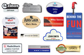 Sample Name Badge The Cawley Company