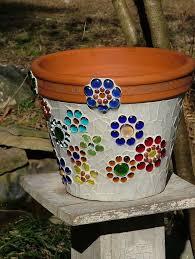 best 25 mosaic flower pots ideas on mosaic