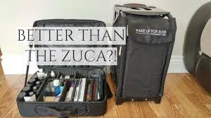 400 zuca pro artist vs 100 makeup bag mua series