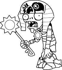 Plants Vs Zombies Coloring Pages Admirable Sunflower Cactus Fire