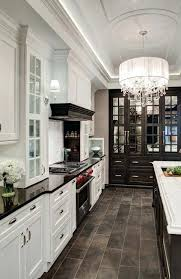 kitchen floor tile ideas with white cabinets tile floor ideas for kitchen with white and black