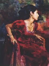michelle by scott bur 25 watermedia paintings by 25 top artists