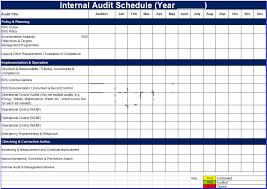 Audit Plan Template Title Make An Internal Audit Plan Laboratory
