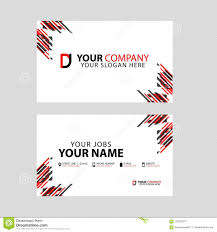 Free Dj Logo Design Software Business Card Template In Black And Red With A Flat And