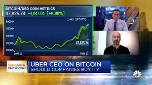 Uber won't buy bitcoin with its cash ...
