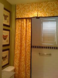 Shower Curtain and Valance traditional-bathroom