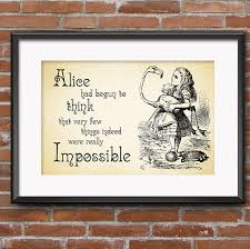 zoom on alice in wonderland wall art quotes with alice in wonderland wall art party decorations gifts