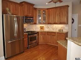 Stone Flooring For Kitchen Traditional Kitchen With Inset Cabinets Stone Tile In Granite