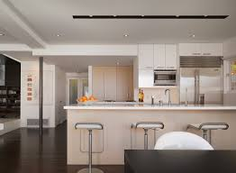 image modern track lighting. Track Lighting Fixtures Kitchen Modern With Bleached Wood Cabinets Light Image T