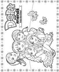 Printable Kids Coloring Pages Dora In The City Free Printable Kids N Fun 6 Coloring