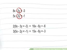 math variable equation solver 3 ways to solve linear equations in algebra