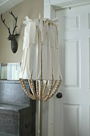jen widner lifestyle blog diy wood bead lamp shade with regard to modern property beaded chandelier lamp shades remodel