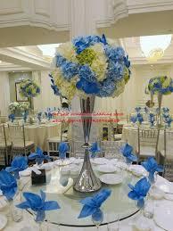 silver wedding table centerpiece candle holder tall flower pillar wedding decoration flower stand 20pcs lot
