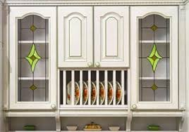 stained glass cabinet doors. retro cabinet with stained glass doors a