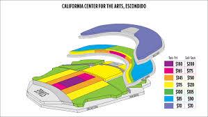 California Center For The Arts Escondidoseating Chart