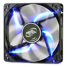 <b>Вентилятор</b> для корпуса <b>Deepcool Wind Blade</b> 120 Blue — купить ...
