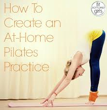 how to create an at home pilates workout