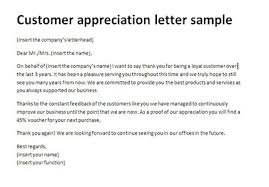 customer appreciation thank you letters thank you letter to client for giving business scrumps