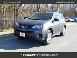 2013 Used Toyota RAV4 FWD 4dr LE at Honda of Fayetteville Serving ...