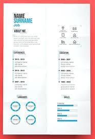Pretty Resume Template Extraordinary Pretty Resume Template Free Modern Resume Template Creative Resume