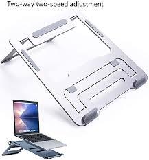 Base Lift Folding Support <b>Laptop Stand</b> Desktop <b>Aluminum</b> ...