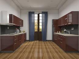 Parallel Kitchen Almond Kitchens
