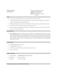 sample resume for java j2ee developer  foodcity.me