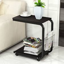 office side tables. Tea Table Side End For Office Coffee Magazine Shelf Small  Movable Living Room Tables