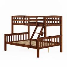 double double bunk beds. Modren Double CorLiving Dakota Walnut Brown TwinSingle Over FullDouble Bunk Bed And Double Beds E