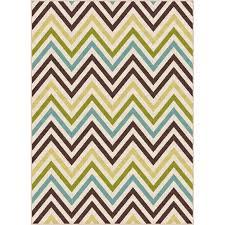 5 x 7 medium chevron multi colored indoor outdoor rug multi colored chevron rug