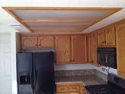 fluorescent soffit type old kitchen soffit lighting
