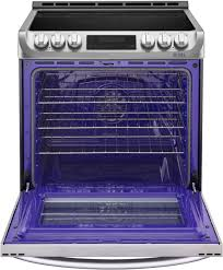 lg 6 3 cu ft self cleaning slide in electric range with probake convection stainless steel lse4613st best