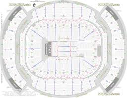 Rogers Arena Seat Numbers Chart American Airlines Arena Seat Row Numbers Detailed Seating