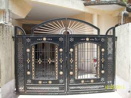 Ms Square Pipe Grill Design Ms Gate For Residential Banglows Gharexpert
