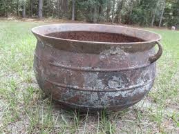 Image result for black iron pot for laundry