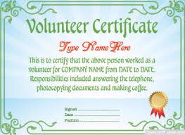 Sample Certificate Border Designs Best Of Volunteer Certificate ...