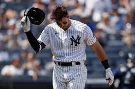Yankees' Joey Gallo striking out a ton ...