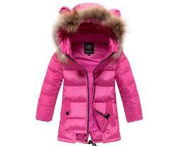 cute girls winter wear fur trim hoo winter