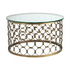 round gold side table metal coffee interesting tables also inspiration to with white top