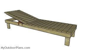 chaise lounge plans myoutdoorplans