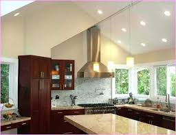 kitchen lighting for vaulted ceilings. Vaulted Ceiling Lighting Living Room Image Of Sloped Hanging Kitchen For Ceilings